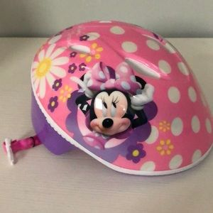 Toddler Disney Minnie Mouse Helmet SZ 3 to 5